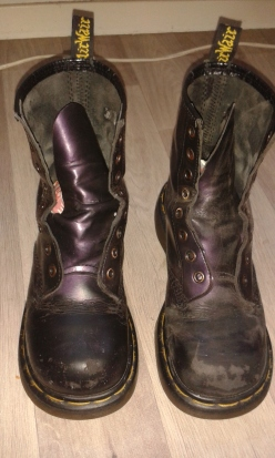 boots before upcycle